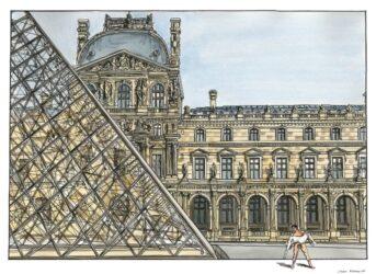 """Louvre -€"""" Paris"""
