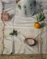 Arrangement on a cloth II