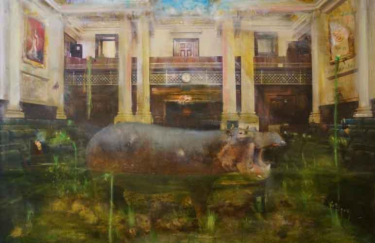VIC Parliament series III, greenhouse