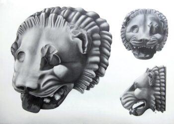 Parthenon lion