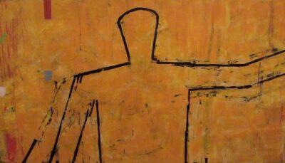 Figure on dune