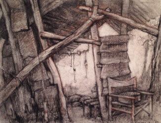 Back door to the Professor huts / Howqua River