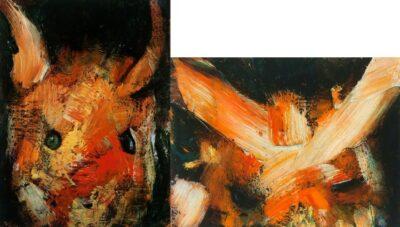 Double portrait (little devils)