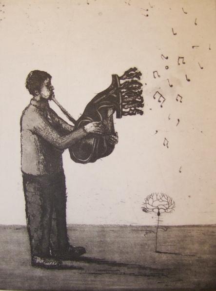 The organist's fugue