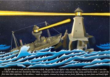 Light ship ex voto