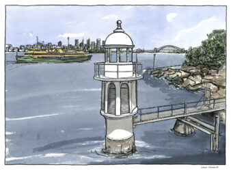 Bradley's Head Lighthouse – Sydney