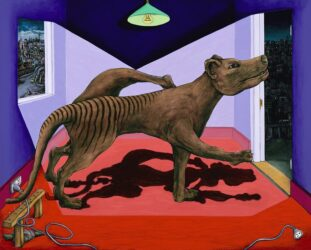 Tasmanian tiger lost in Richmond
