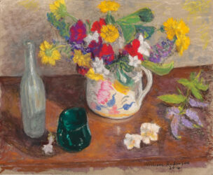 Summer flowers in Poole jug