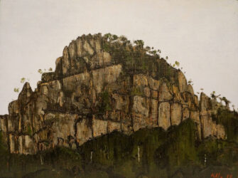Hanging Rock (study from road)