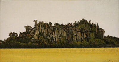 Hanging Rock (from racecourse)