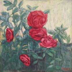 Salvatore Zofrea – Red roses from my garden