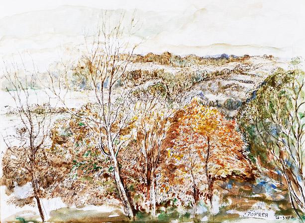 Autumn, Willow Glen Valley, Kurrajong