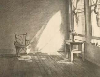 Sunlight on a chair