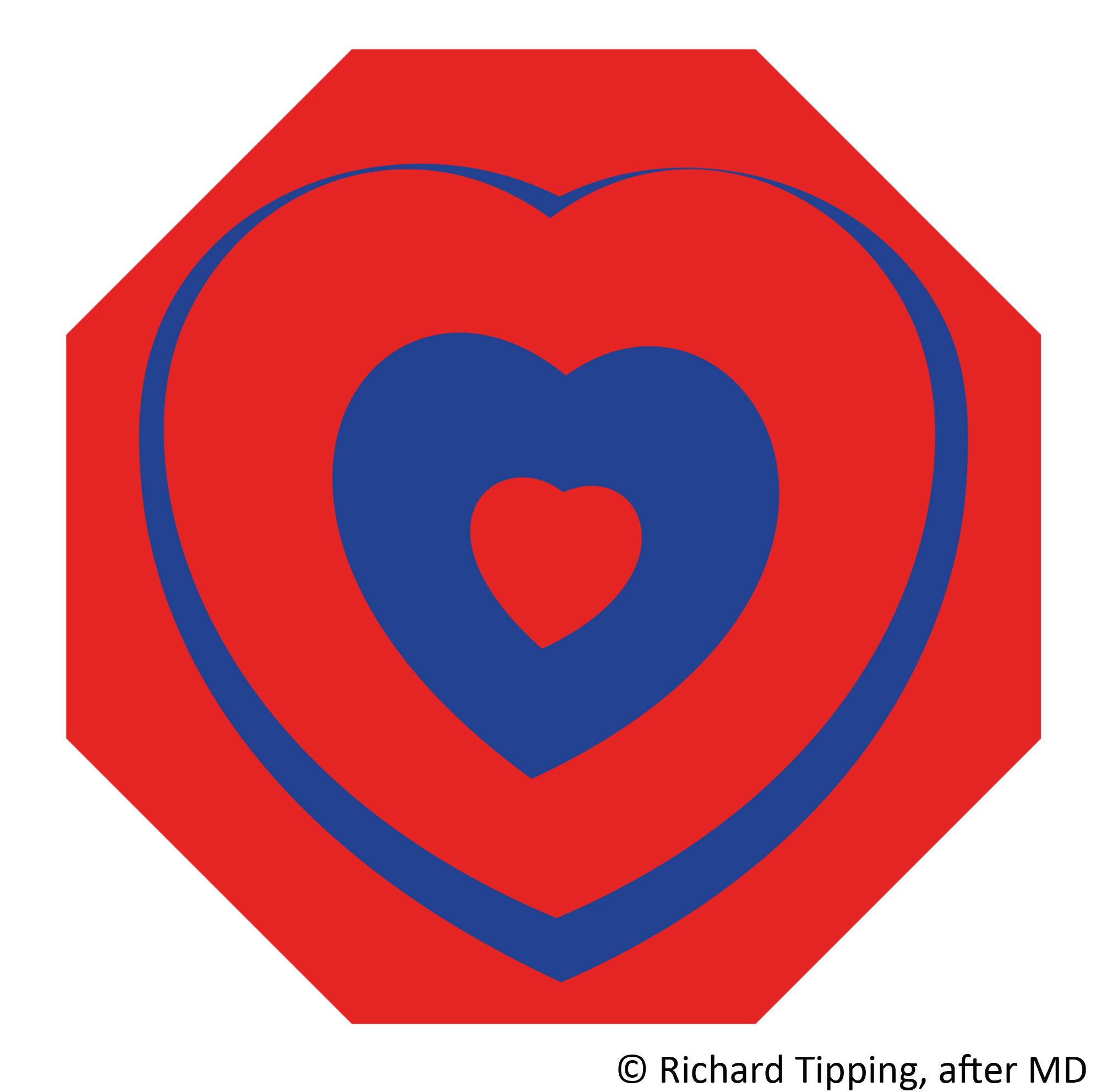 Be still my fluttering heart after Marcel Duchamp