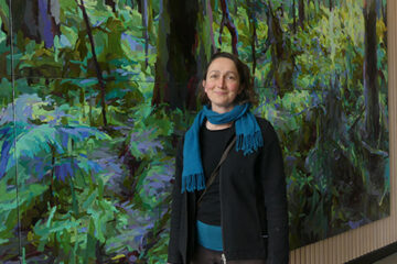 Mary Tonkin views her work at ACU