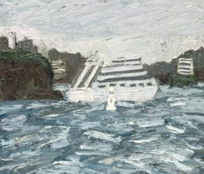 Cruise Ship, Georges Head