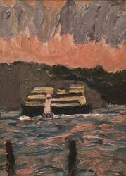 Sunset, Shark Beach #1