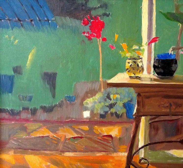 Jenny's garden #12 – homage to Bonnard