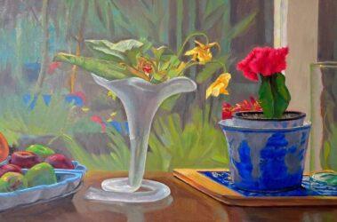 Jenny's garden #9 – nasturtiums