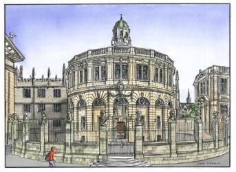 Sheldonian Theatre Oxford University