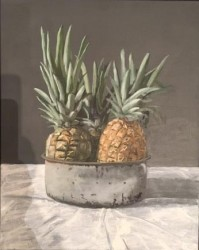 Pineapples in cheese tin