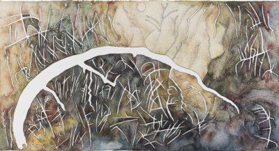 Bent Glyph – Homage to Corot