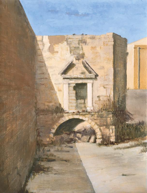 Ruined cistern, Polignano a Mare