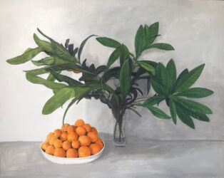 Oranges and Loquat Leaves, large