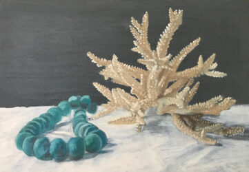 Glass Weights and Coral