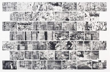 Landscape of waste – black