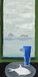 Dart and vase – island view