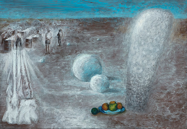 Snowballs and Cezanne