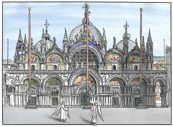 St Mark's Basilica Venice-Angel Tourists