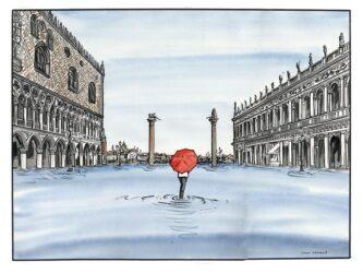 Venice St Mark's Square Acqua Alta