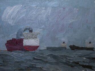 Three ships, Princes Pier