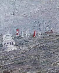 Choppy seas, Princess Pier