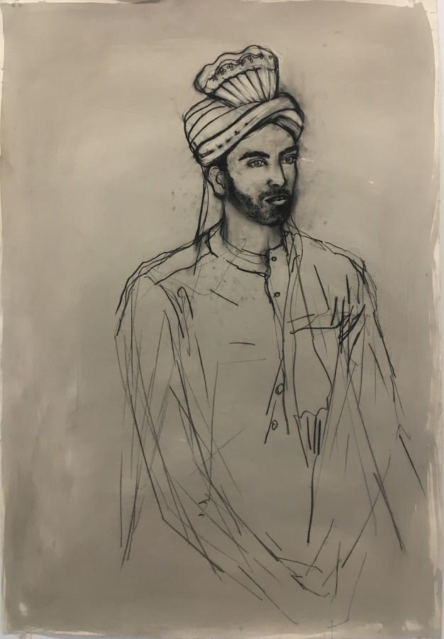 Portrait of Pierpaolo Borcuzzi (Vimal)