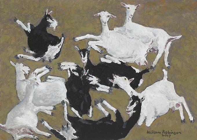 British Alpine & Saanen goats