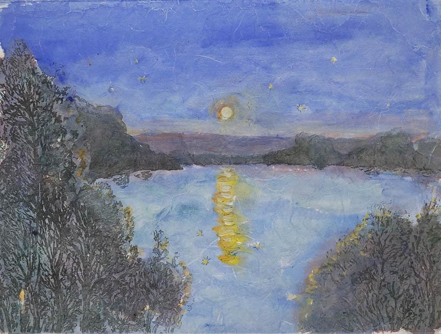Moonrise over the Hawkesbury