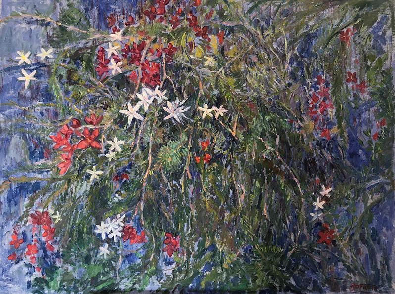 Wildflowers and lapis
