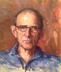 Portrait of Jock Clutterbuck