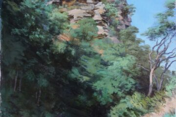 Michelle Hiscock – Finalist in the NSW Parliament Plein Air Painting Prize