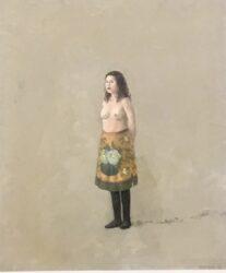 Girl in a skirt