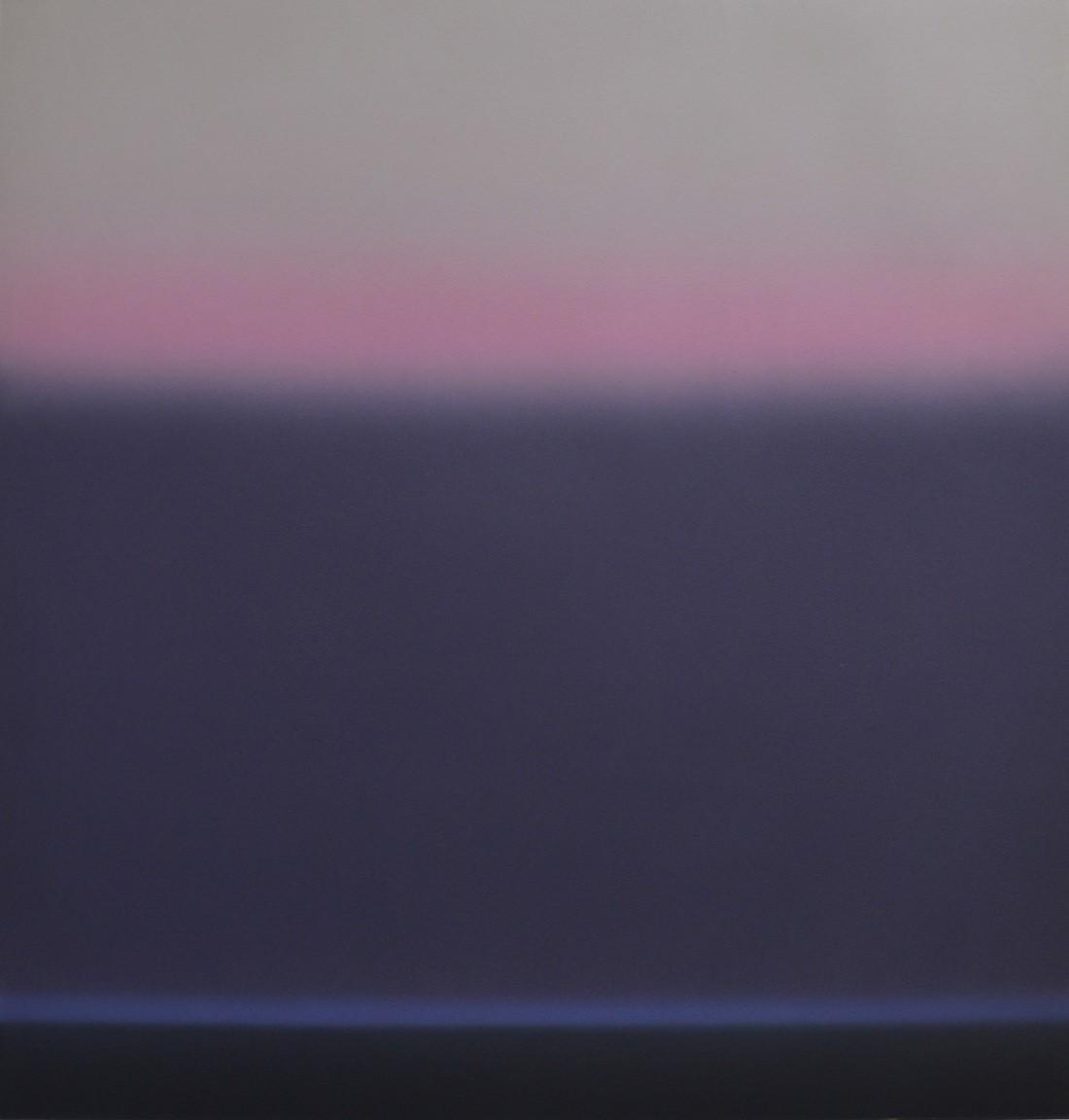 Sea with dark grey cloud I
