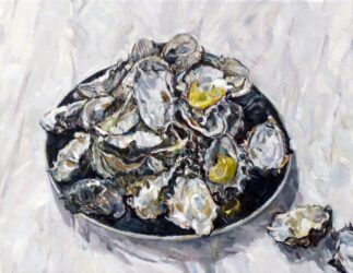 Large still life with oyster shells II