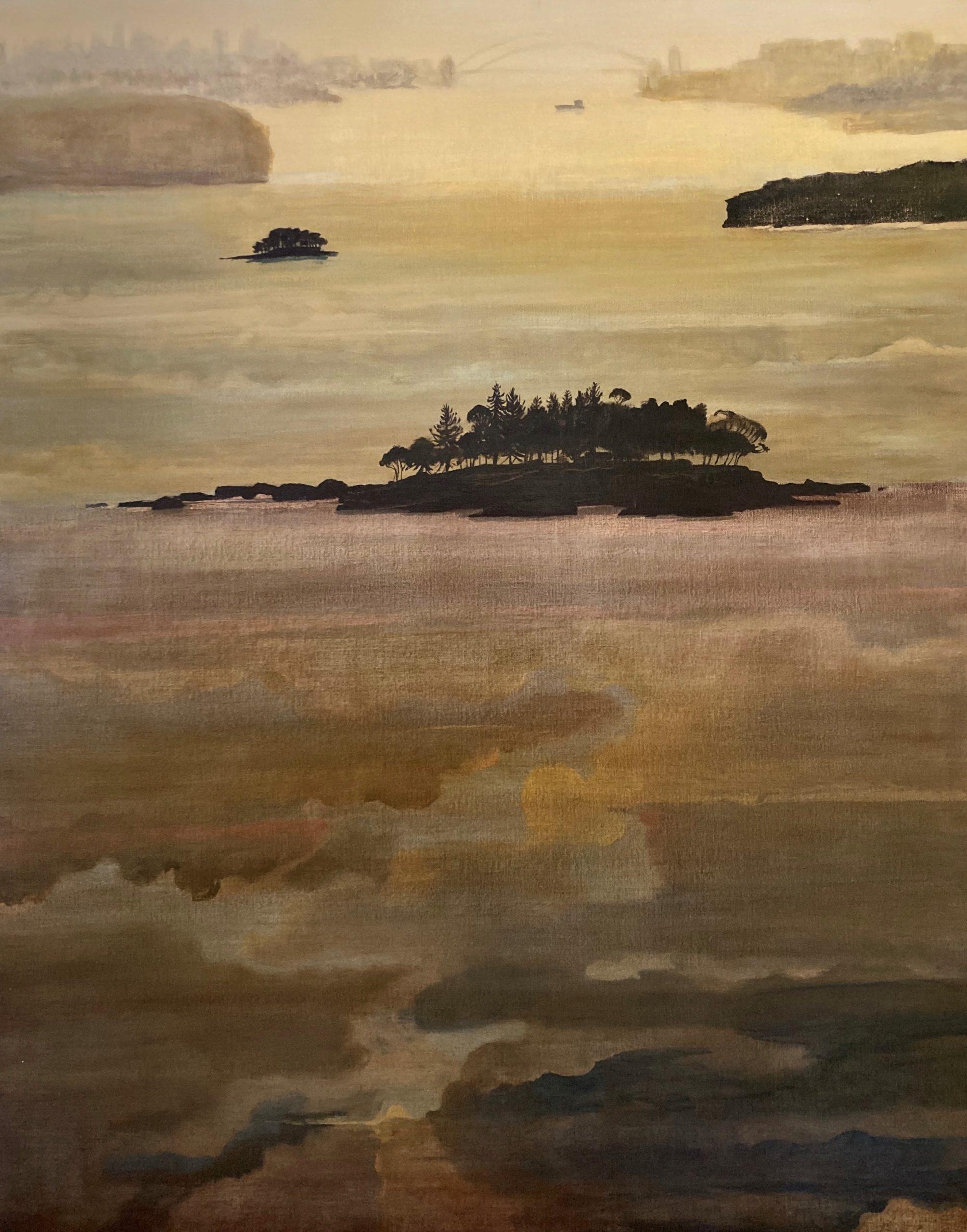 Shark Island, evening