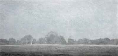 The graveyard end in fog (May)