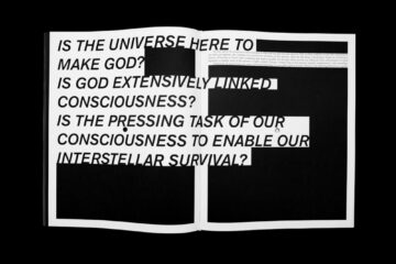 Richard Goodwin's 'God in Reverse' Monograph – Deezen Award Nomination