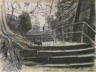 Watt Park steps