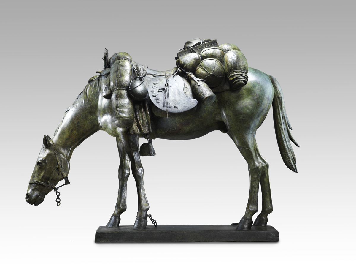 Maquette for Equine Impedimenta – Tully's Baggage